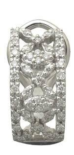.50 TCW Genuine Diamond Earrings Reg $861