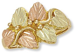 Black Hills Gold Ring Reg $269