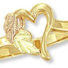 Black Hills Gold Ring - Heart Reg $159