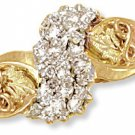 Black Hills Gold Ring with Genuine Diamonds 0.30 CTW Reg $799