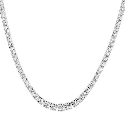 1 Carat Diamond White Gold Necklace Reg $999