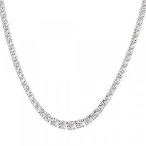 1 Carat Diamond White Gold Necklace Reg $999