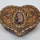 "Jewelry Box ""Heart"" - Rodonit"