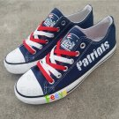 New England Patriots shoes women's Patriots sneakers super bowl fashion football fans birthday gift