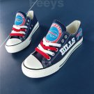 Buffalo Bills shoes women's Buffalo Bills sneakers super bowl fashion football fans birthday gift