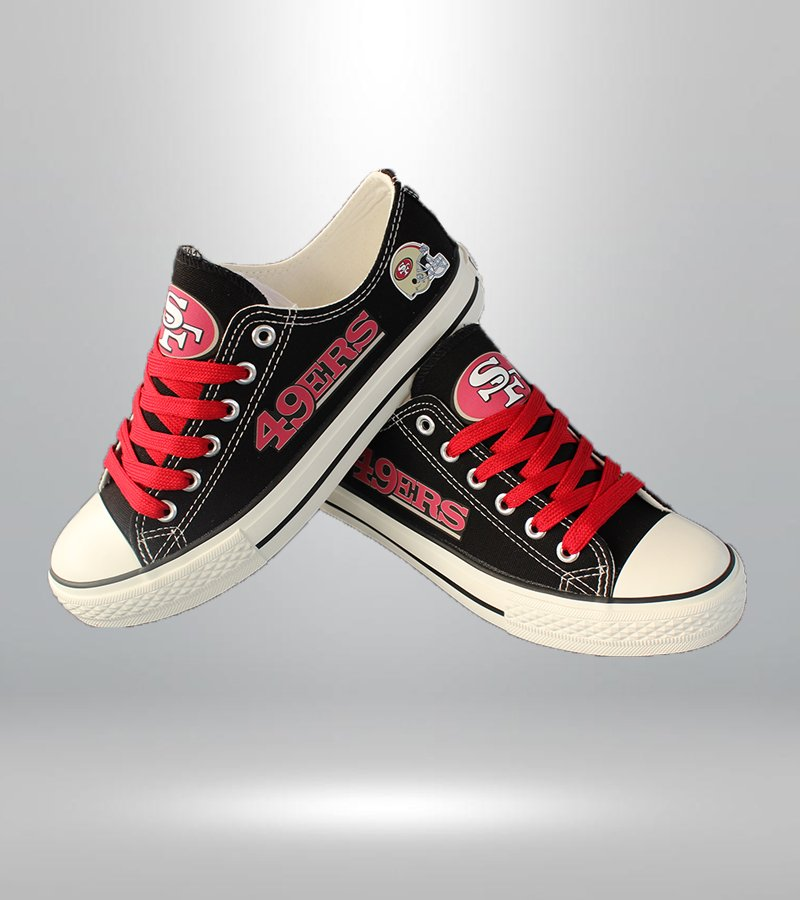 San Francisco 49ers shoes SF 49ers sneakers Fashion ...
