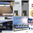 54 LED Solar Power Light Motion Sensor Outdoor Security Lamp Garden Waterproof