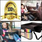 Lebogner Kids Car Seat Travel  Table For Car Seats, Strollers And Planes Pockets