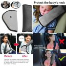 KKTICK Car Seat Belt Covers, Kids Seatbelt Pillow Belt Strap Cover Headrest Neck