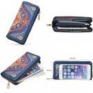 Lovely Women Canvas Zipper Clutch Purse Credit Bank Card Wallet Organize Bag New