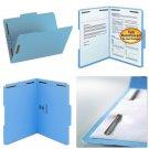 Smead Fastener File Folder, 2 Fasteners, Reinforced 1/3-Cut Tab, Letter Size,