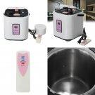 2L 110V Sauna Stainless Steel Steamer Pot For Portable Steam Saunas Home