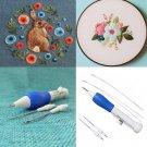 1 Set Magic Embroidery needle Pen Embroidery Needle Weaving Tool Fancy D1205