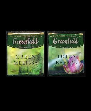 GREENFIELD TEA GREEN MELISSA AND LOTUS BREEZE GREEN TEA