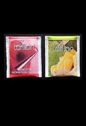 TARLTON TEA VALLENTINE AND JACK FRUIT TEA BAGS IN PAPER SEALED ENVELOPES