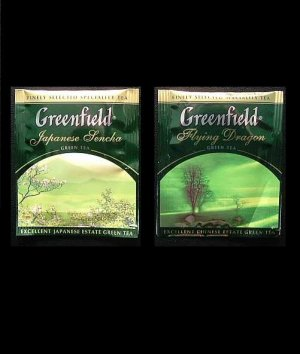GREENFIELD TEA JAPANESE SENCHA AND FLYING DRAGON GREEN TEA