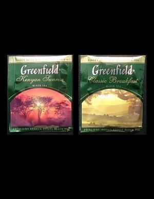 GREENFIELD TEA KENYAN SUNRISE AND CLASSIC BREAKFAST BLACK TEA