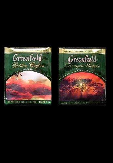 GREENFIELD GOLDEN CEYLON AND KENYAN SUNRISE BLACK TEA