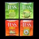TESS TEA UK AND RUSSIA BLACK AND GREEN TEA TEABAGS