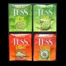 TESS TEA UK AND RUSSIA BLACK AND GREEN TEA TEABAGS