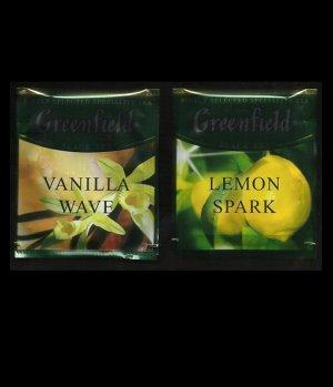 GREENFIELD LEMON SPARK AND VANILLA WAVE BLACK TEA