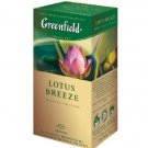GREENFIELD TEA LOTUS BREEZE GREEN TEA