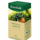 GREENFIELD TEA TROPICAL MARVEL GREEN TEA