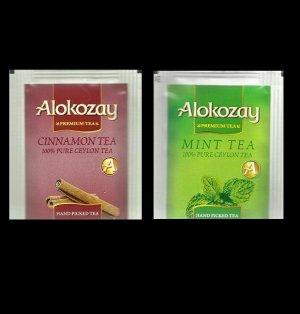 DUBAI ALOKOZAY MINT TEA AND CINNAMON BLACK TEA