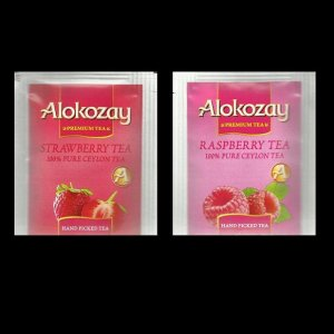 DUBAI ALOKOZAY RASPBERRY TEA AND STRAWBERRY FRUIT TEA