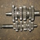 81 YAMAHA YZ80 YZ 80 TRANSMISSION GEAR SET