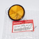 HONDA NEW NOS OEM STANLEY FRONT AMBER REFLECTOR 5050-502