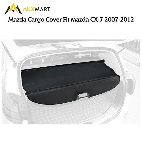 Cargo Cover For 2007 2012 Mazda Cx 7 Black Retractable Shield: AUXMART Cargo Cover Tonneau Anti-Theft Shield Fit For