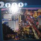 "BUFFALO GAMES 2000 PIECE ""VEGAS, BABY"" JIGSAW PUZZLE 38 X 26"