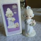Enesco Precious Moments #524387 Take Time To Smell The Flowers