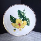 "Ucagco Floral 9 1/4"" Floral Plate C Crafted in Japan"