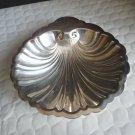 """Edinburgh Silverplate 6"""" Footed Clam Shell Bon Bon Bowl"""