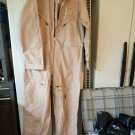 NEW Coverall Flyers Size 44S Type 1 Class 2 Tan