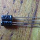 2pcs 0.1uF 50v Electrolytic capacitor