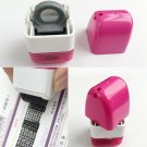 Portable 15mm Identity Theft Protection Code Guard Stamp Seal Roller Self Inking
