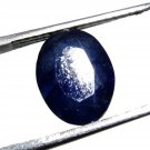 2.85Ct. High Quality MGL Certified Natural Oval Cut Blue Sapphire Stone -CH 5348