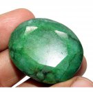 169.30Cts Big Size Natural Oval Cut Brazilian Emerald Loose Gemstone Gem CH 5185