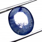 4.55Cts Natural Oval Cut Transparent Sri Lanka Blue Sapphire Gemstone CH 6845
