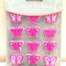 Jolee's Boutique Cabochons Dimensional Stickers, Butterflies scrapbooking crafts