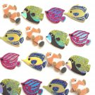 Jolee's Boutique Dimensional Stickers, Saltwater Fish