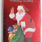 Jolly Holiday Wishes w/ Santa  6 Christmas Money Gift Card Holders & Envelopes