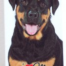 I Love My Rottweiler Hard Case for iPhone 5