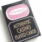 Aquarius Casino Las Vegas House Played Deck of Cards