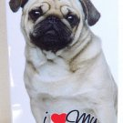 I Love My Pug Hard Case for iPhone 5