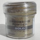 Ranger Embossing Powder, Super Fine Gold (in a cracked jar)