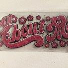 EK Sucess Jolee's Boutique 3-D Glitter Stickers Flowers Gemstones All About Me
